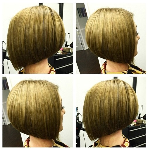 short straight a line bob haircut for girls