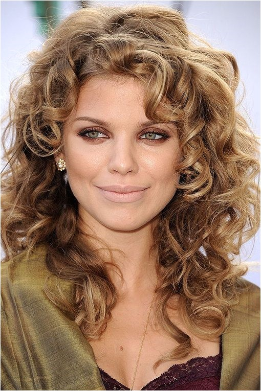 celebrity curly hair women