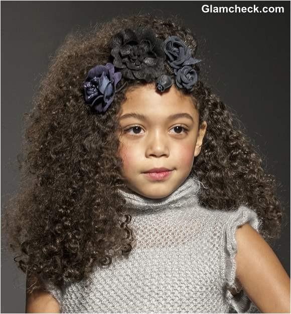 kids hairstyle diy curly hairdos