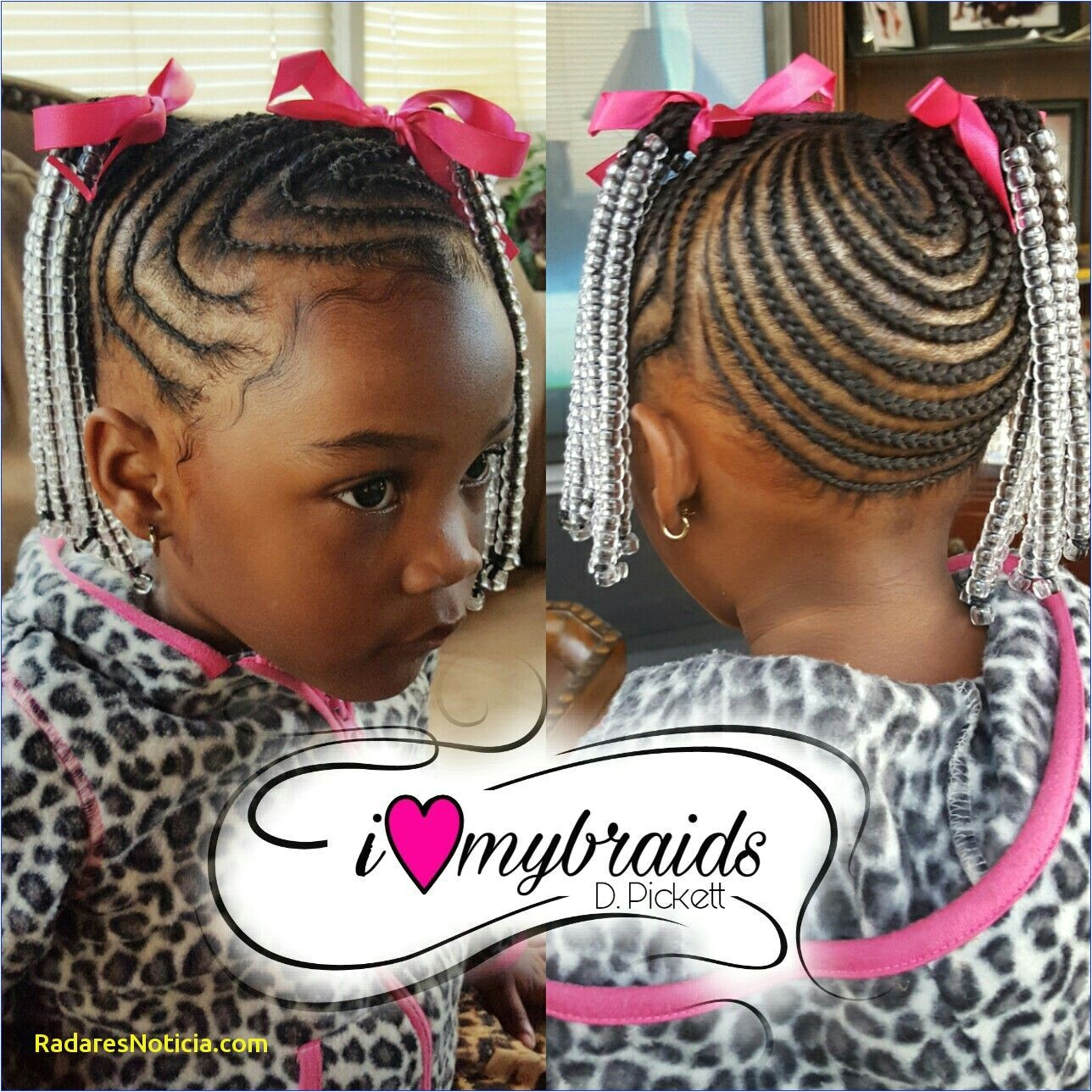 Kids hair Braids Little Girls braids Black hair Braids and beads