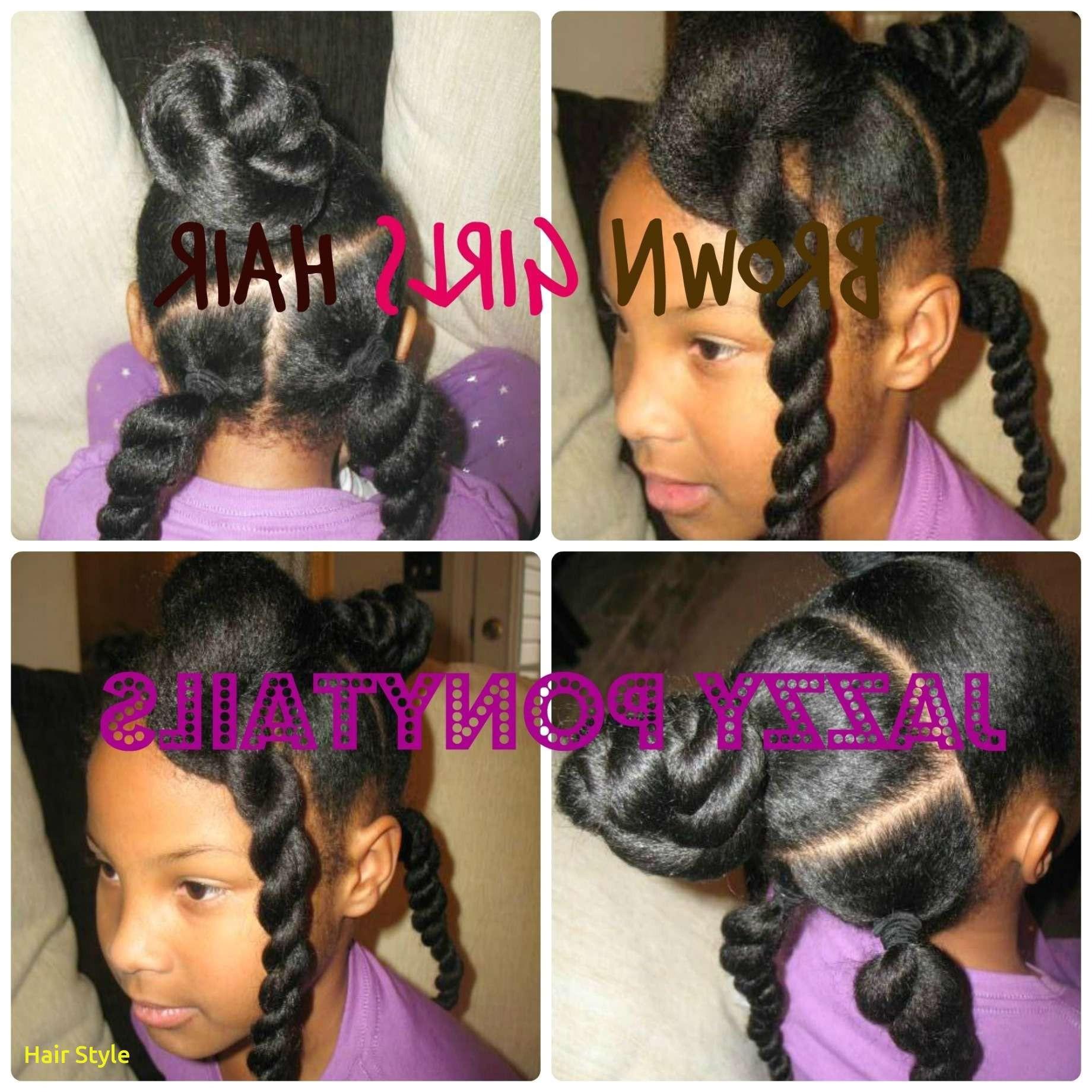 Little Black Girls Ponytail Hairstyles 41 Best Ponytail Hairstyles for Children
