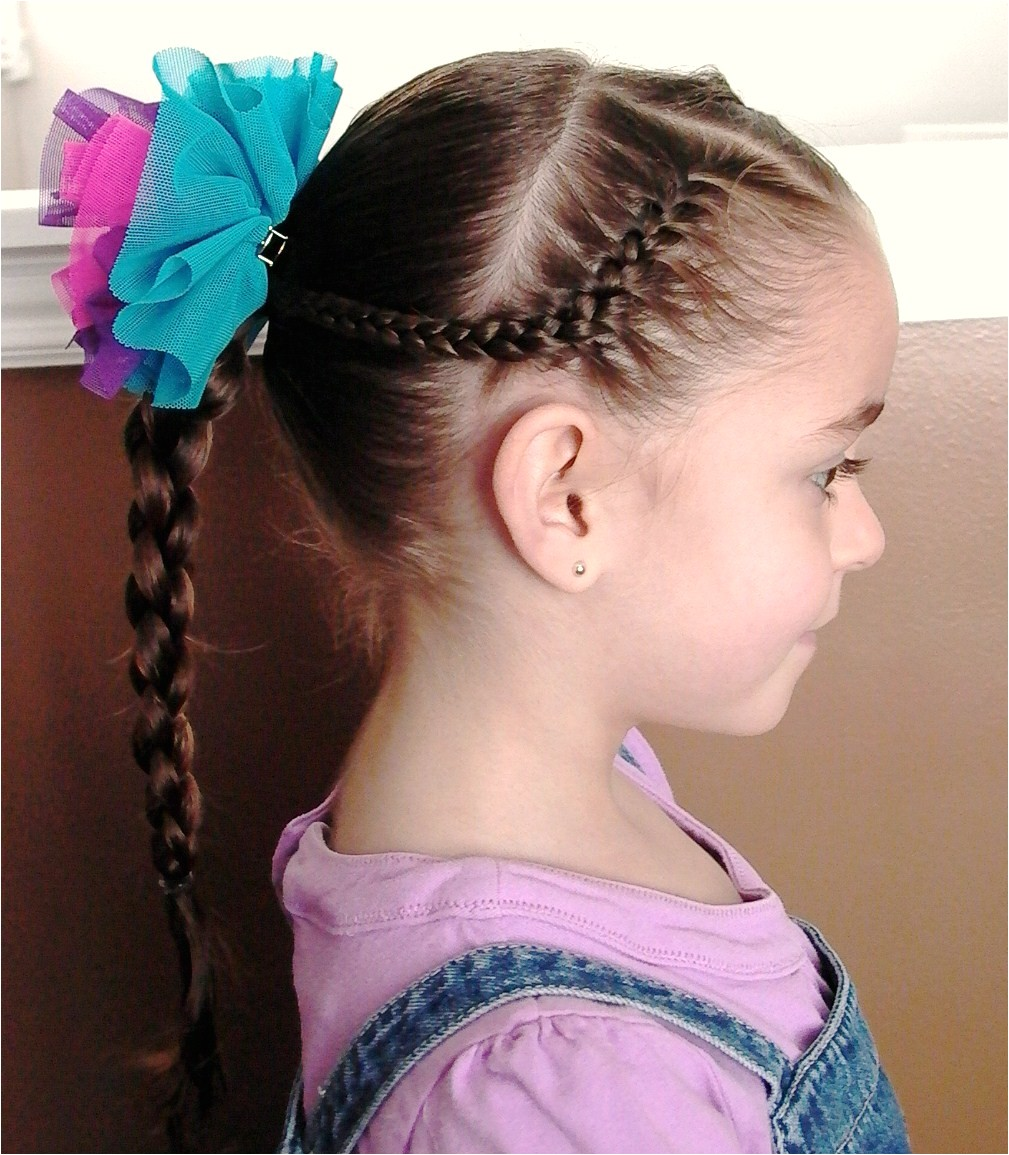 braided hairstyles for little girls with long hair 2