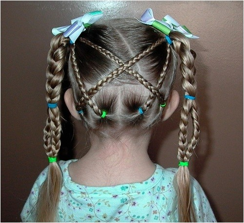pretty and funky little girls hairstyles braids pictures