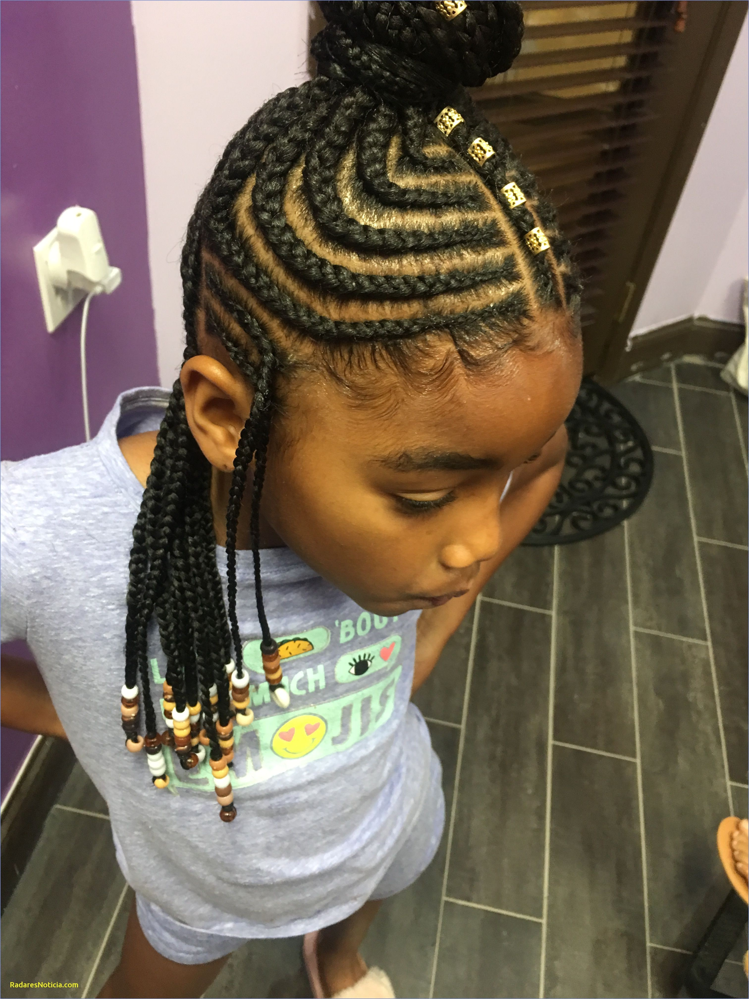 9 Best Little Girl Braided Hairstyles with Beads