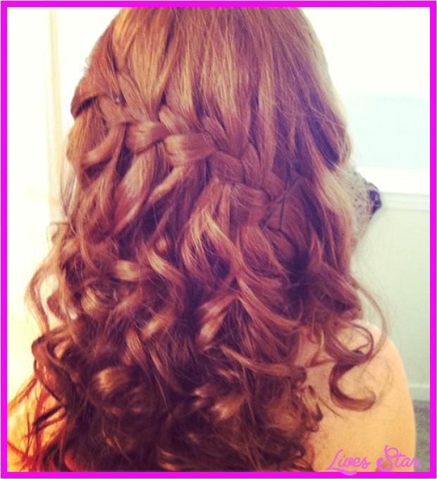 cute hairstyles long hair tumblr prom