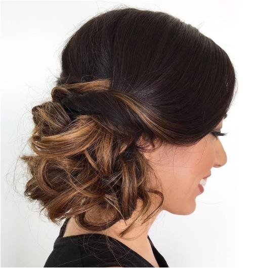 side bun hairstyles