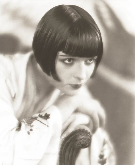 my hairdo up date louise brooks look
