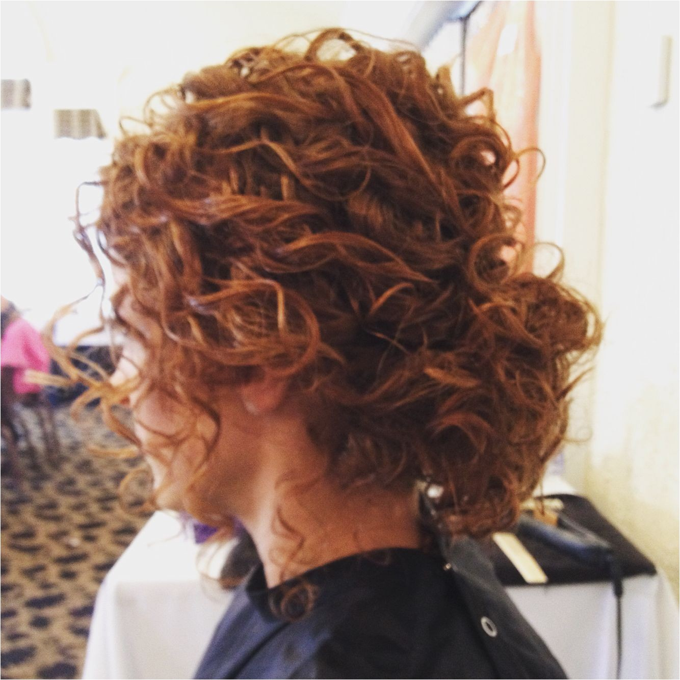 Hairstyle · Updo for Natural Curly Hair Naturally Curly Hair Low Bun Updo Hair Pinterest