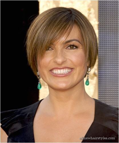 mariska hargitay with short hair