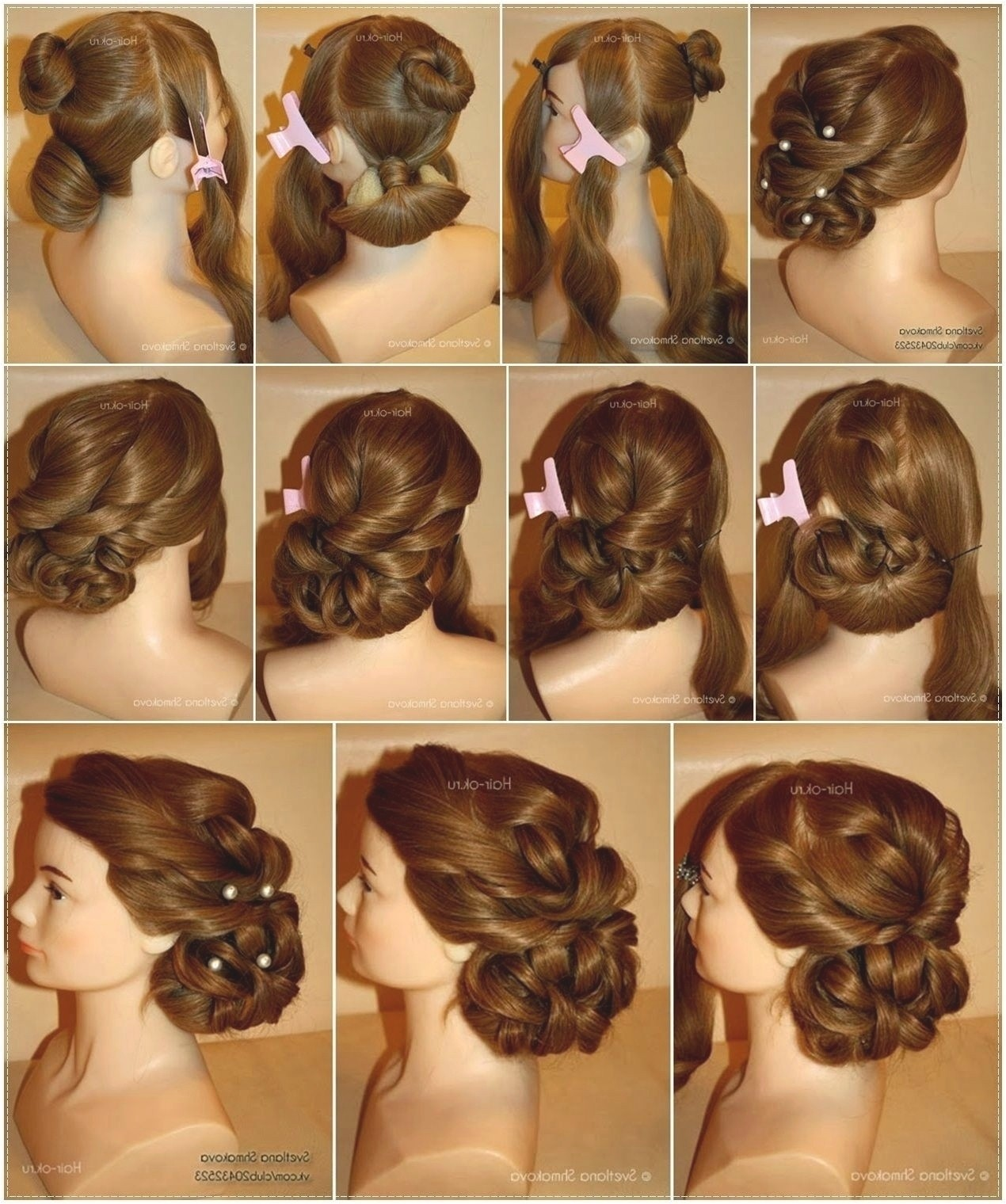 Indian Hairstyle Step by Step Beautiful Hairstyle for Indian Wedding Girl Luxury Indian Bridal Hairstyle