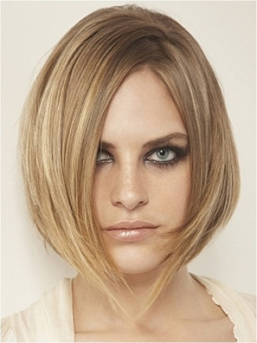 medium layered bob hairstyles women