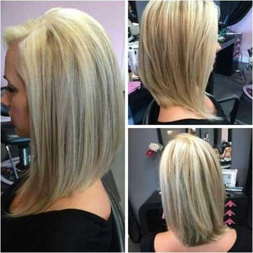 Medium Length Angled Bob Haircuts 20 Short to Mid Length Haircuts