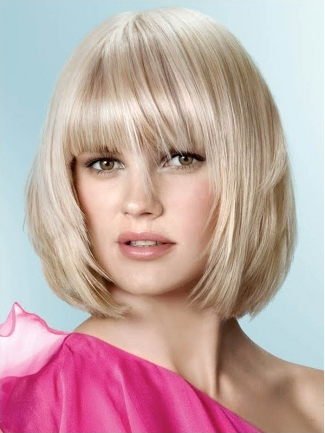 shoulder length bob hairstyles with bangs style wu with regard to incredible medium layered bob with bangs intended for your hairstyle