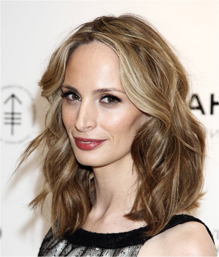 medium hairstyles bangs women