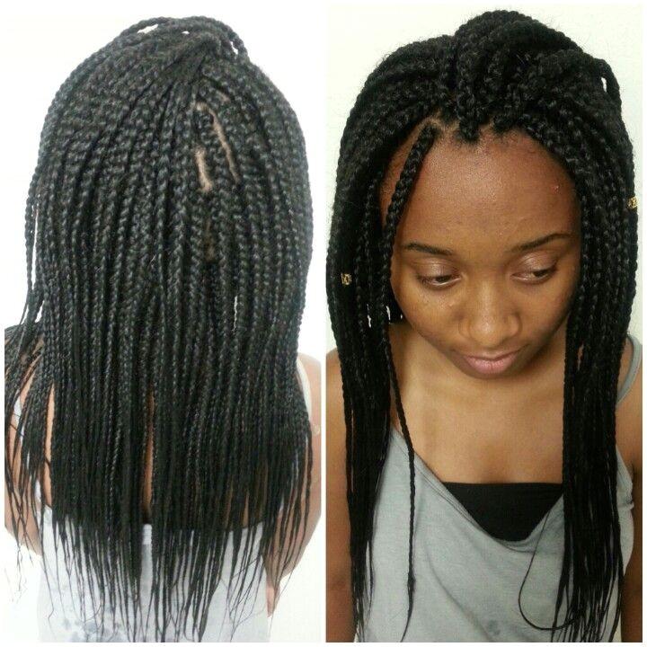 classy braids medium hair