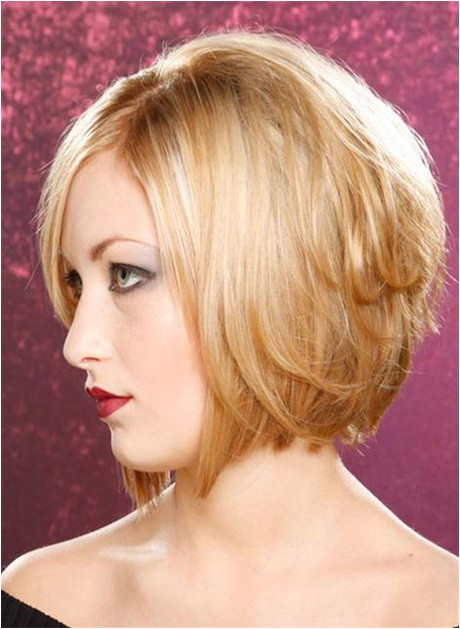 medium stacked bob haircut photos