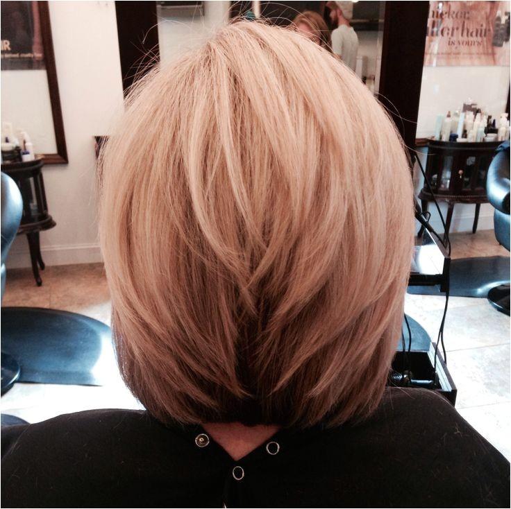 stacked medium hair cuts