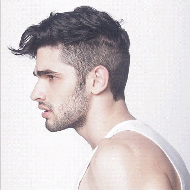 mens cool hairstyles for side shaved hair