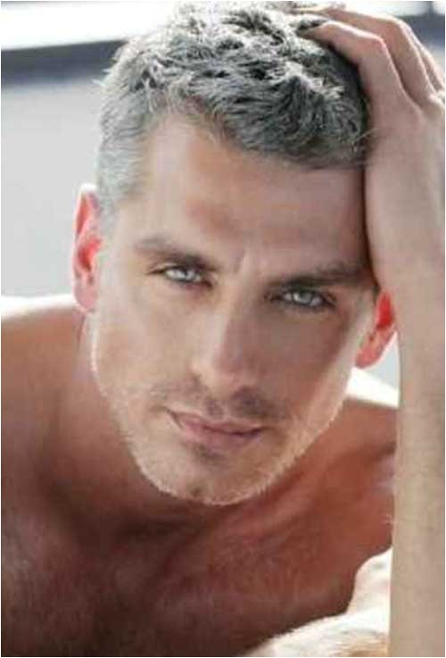 10 best men with gray hair