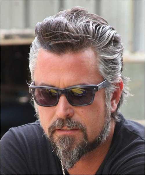 Men S Hairstyles Gray Hair 10 Best Men with Gray Hair