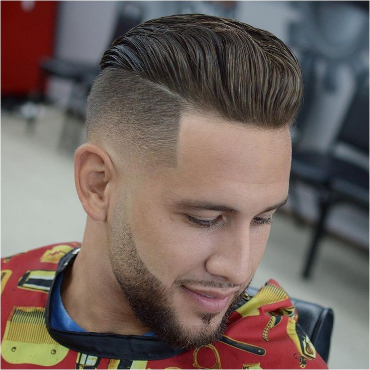 mens fades and short back sides