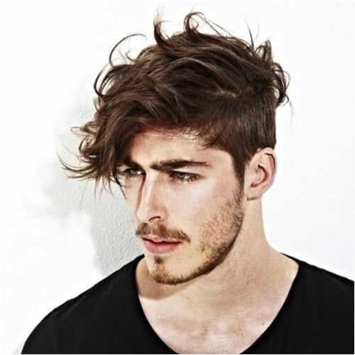 wavy hairstyles for men