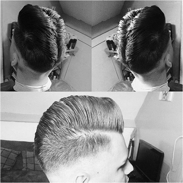 ducktail haircut for men