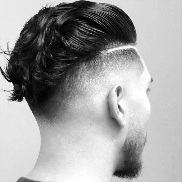 mens ducktail hairstyle