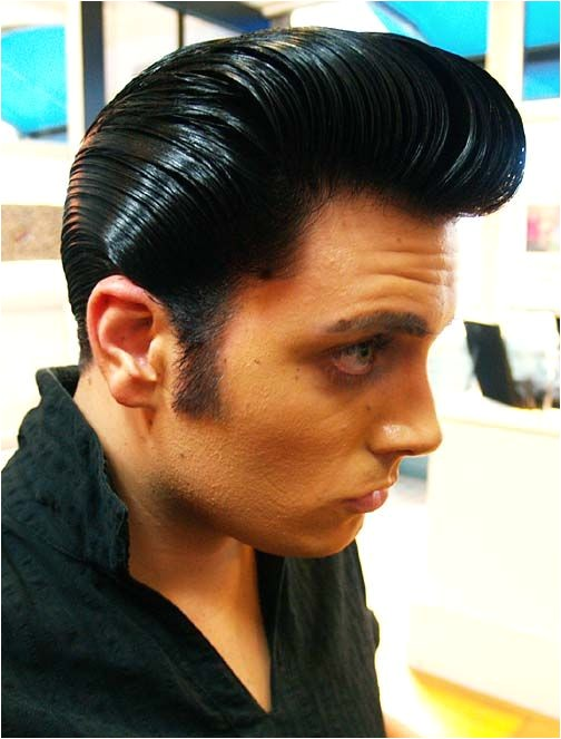 Mens Ducktail Hairstyle 2