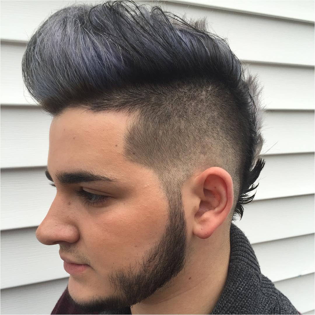 fauxhawk fohawk haircut