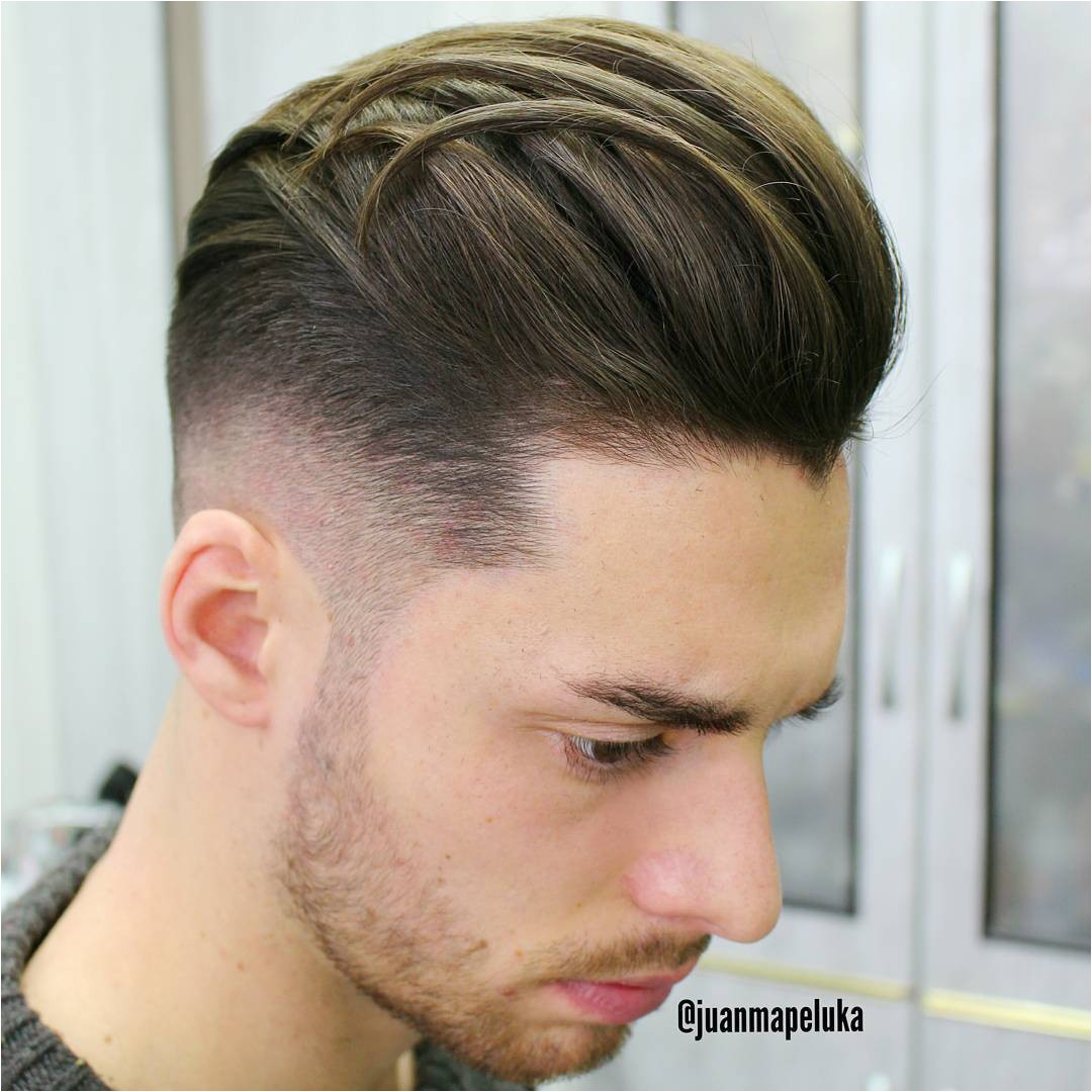 mens barber haircut styles