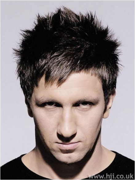 mens choppy hairstyles