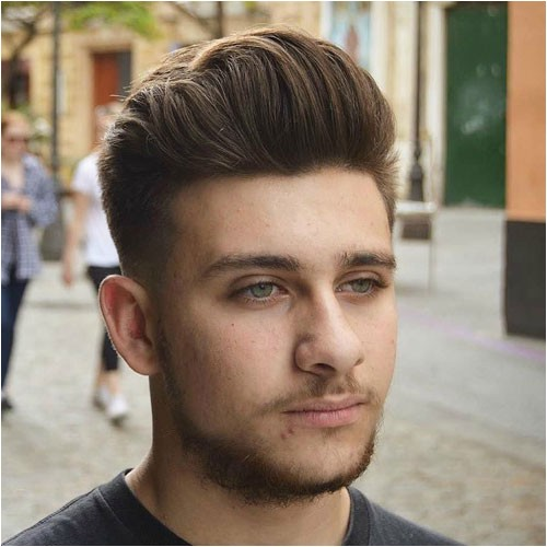 best hairstyles for round faces men