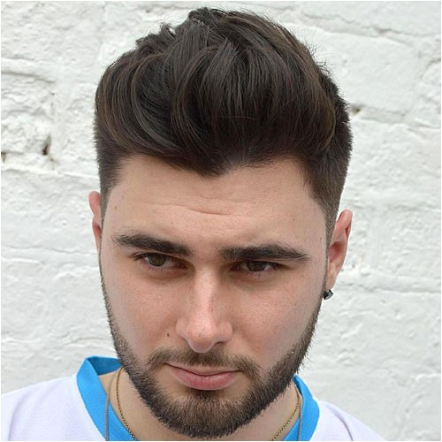 trending mens hairstyles round faces