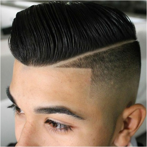 Mens Haircuts with Lines Line Up Haircut