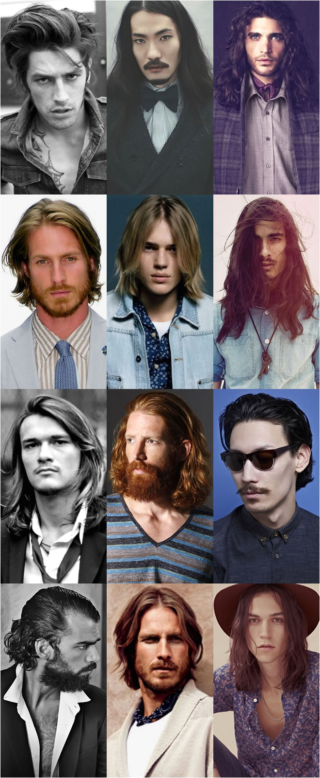hairstyle trend mens long hair
