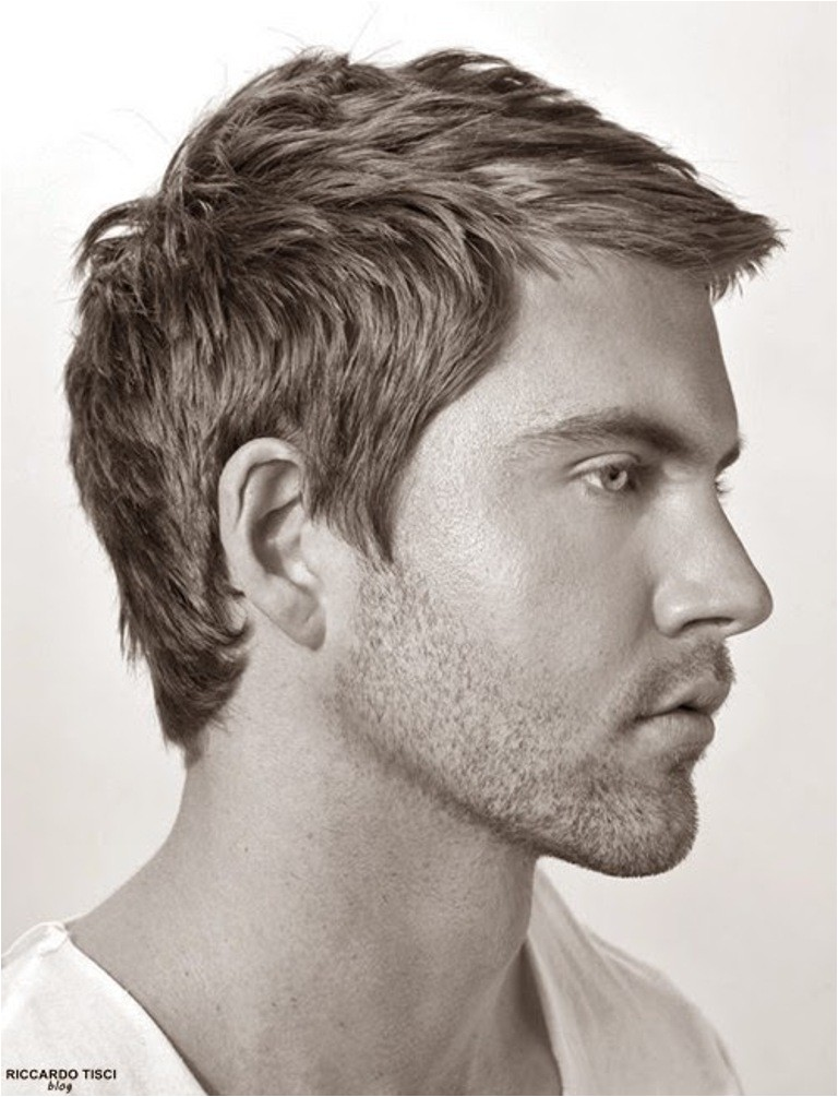 men haircuts and style