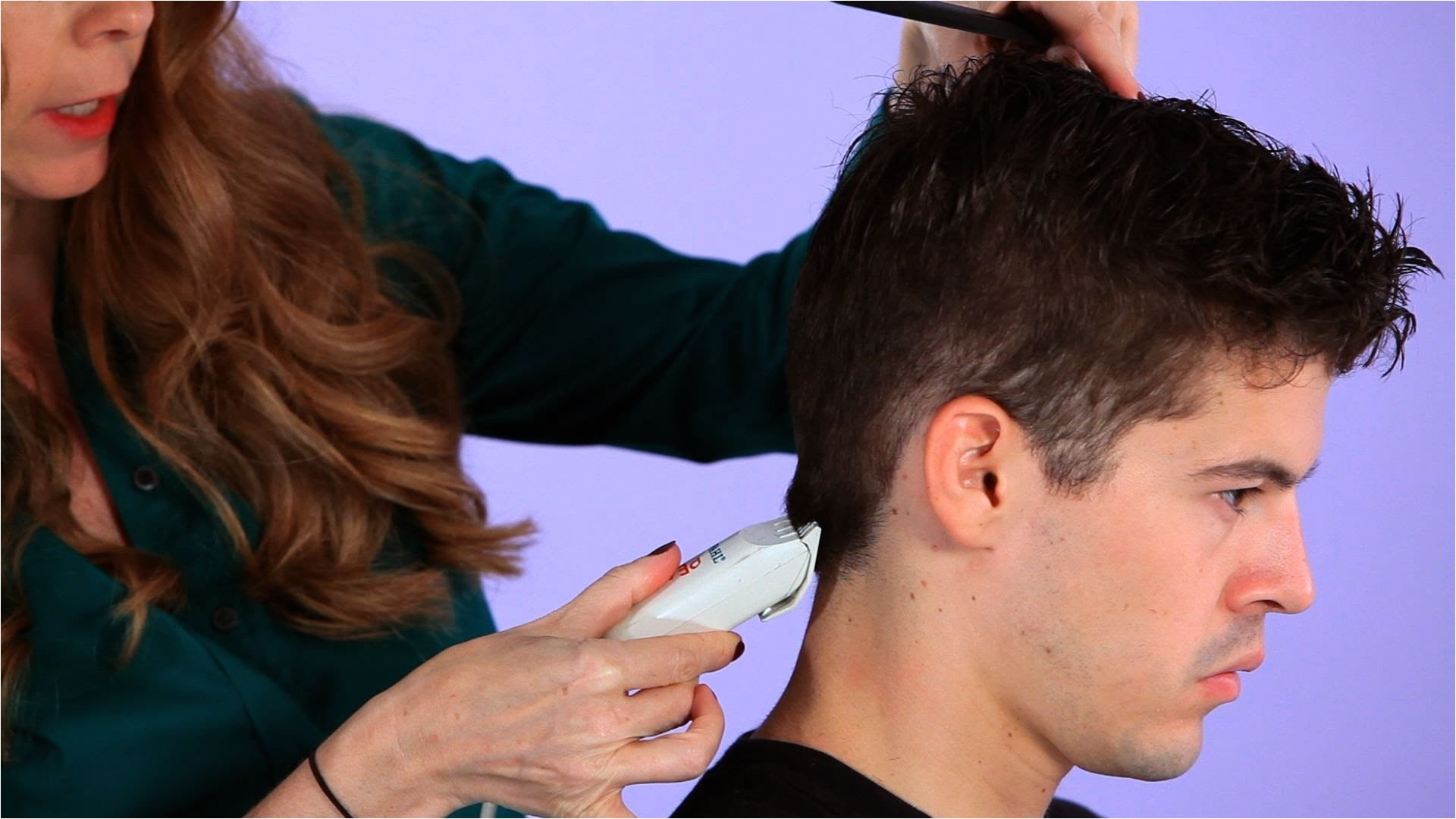 trim hairstyle for men how to cut a man39s hair with clippers hair cutting youtube