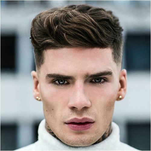 hairstyles for men according to face shape 635