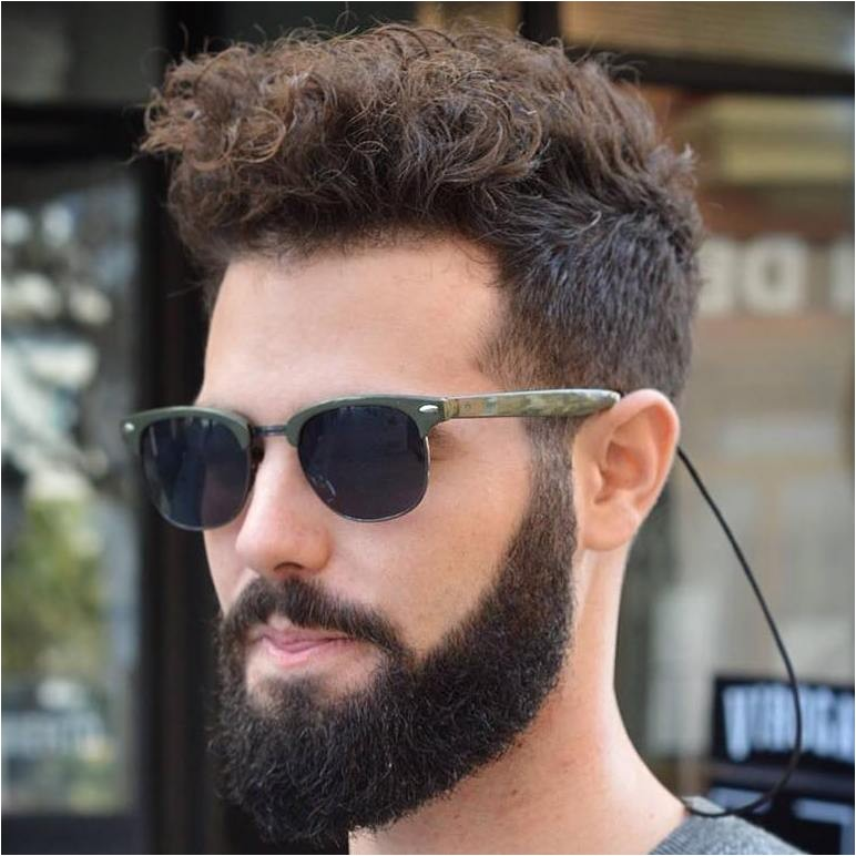 30 statement hairstyles for men with thick hair