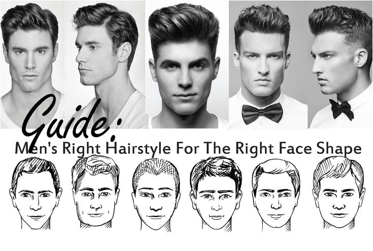 Mens Hairstyles for Your Face Shape 1