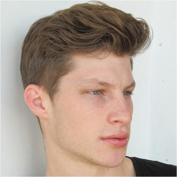 easy mens hairstyles long top short sides