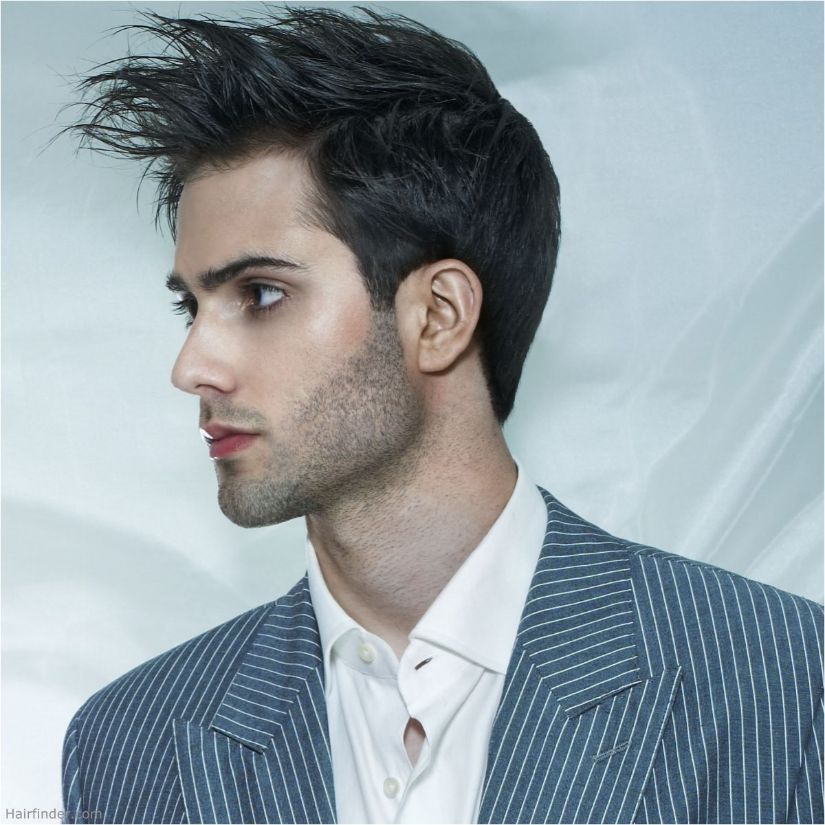 male hairstyles without gel