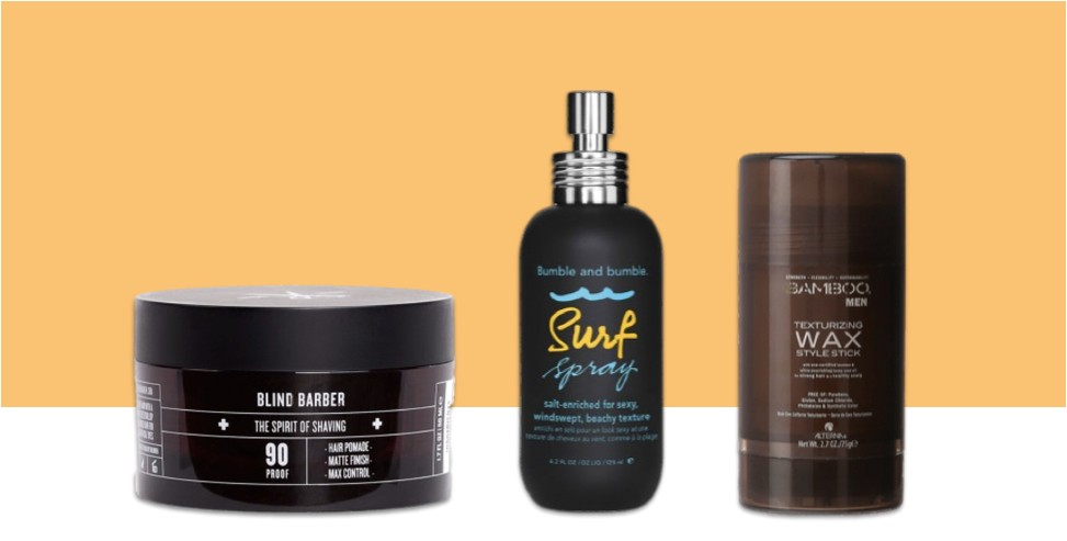 best hair products for men with all hair types