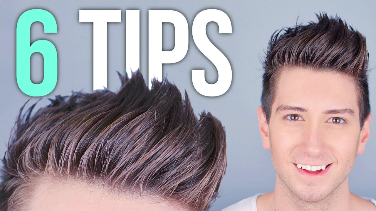 mens hair styling tips