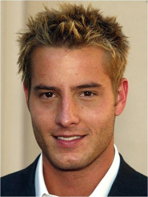 men short spiky hairstyles