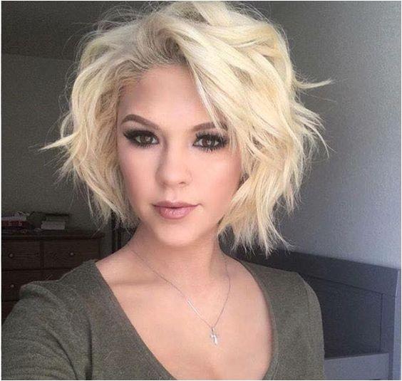cute messy bob hairstyles women