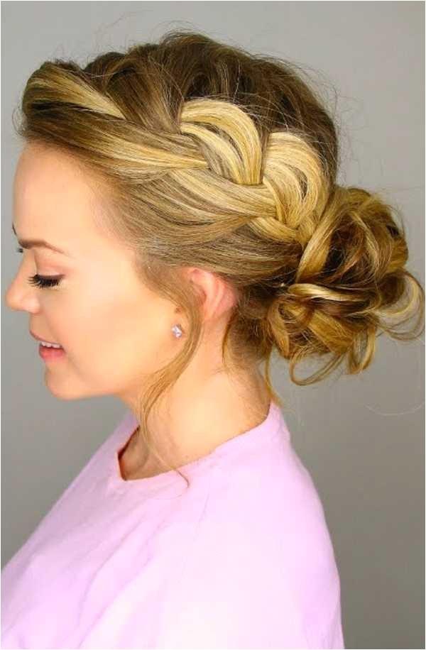 cute messy bun hairstyles 2016