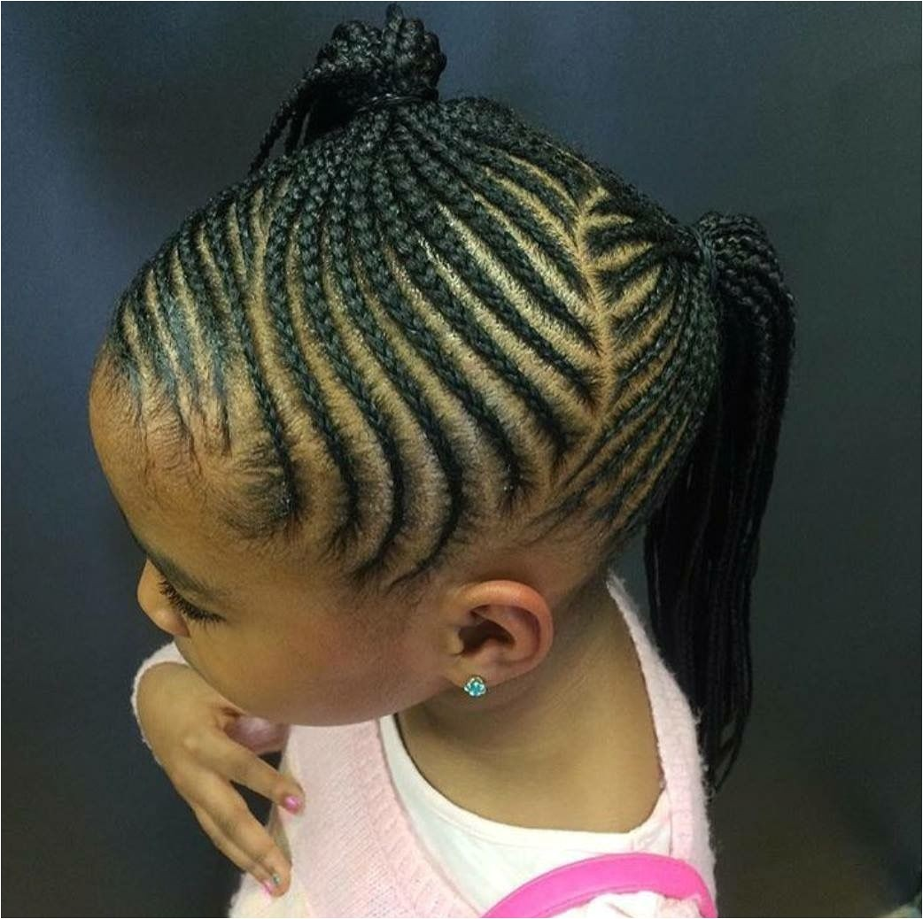 Micro Braids Hairstyles for Kids Pin by Ekahnzinga On Hair Style Pinterest