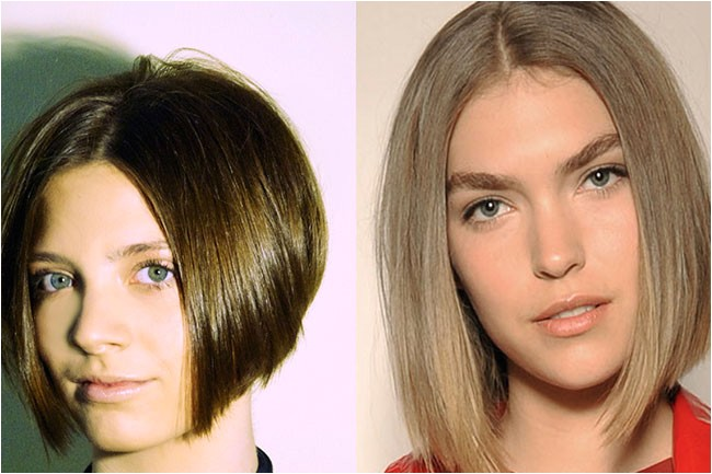 weave bob hairstyles with middle part